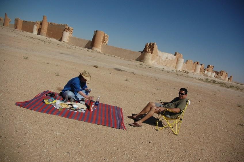 Stewart Innes Syrian Dom Joly filming