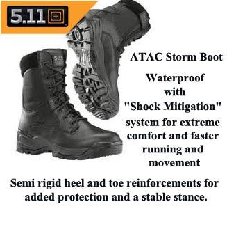 5.11 Tactical Waterproof Boot