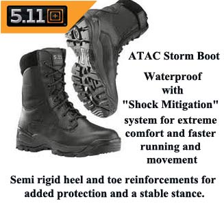 5.11 Tactical Waterproof Boot