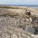 Stewart Innes solar charger ghost bike