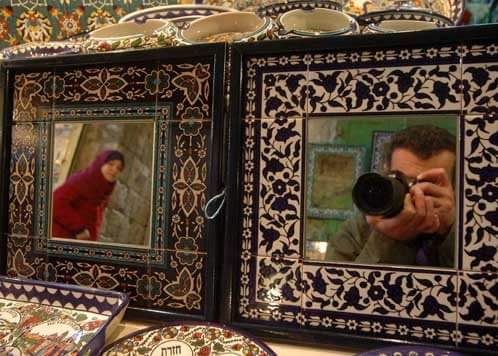 Stewart Innes Jerusalem Mirrors
