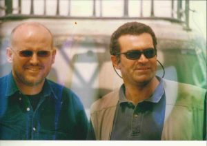 Stewart Innes with Peter Wilson / Photo by John Federer