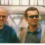 Stewart Innes with Peter Wilson / Photo by John Federer