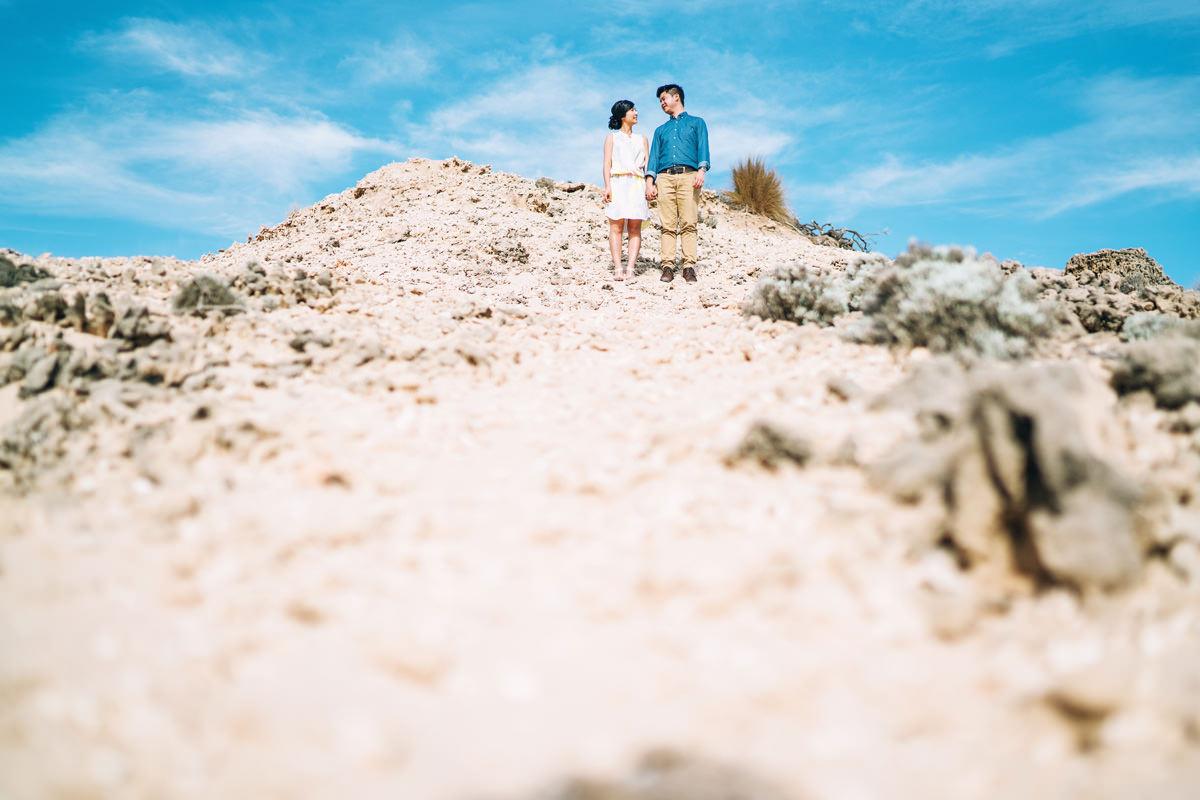 seas side pre wedding photos at sorrento victoria