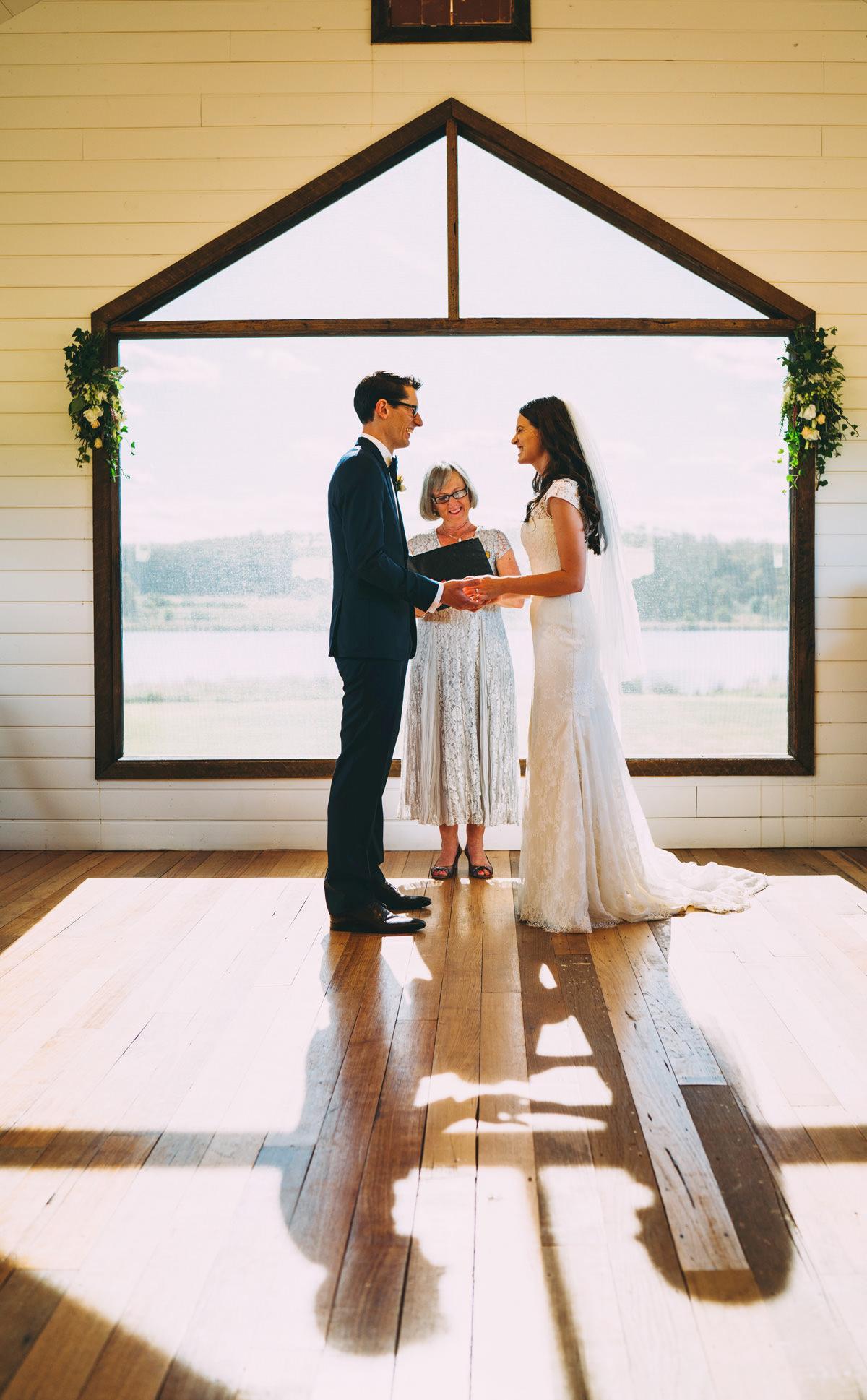 barn chapel wedding daylesford
