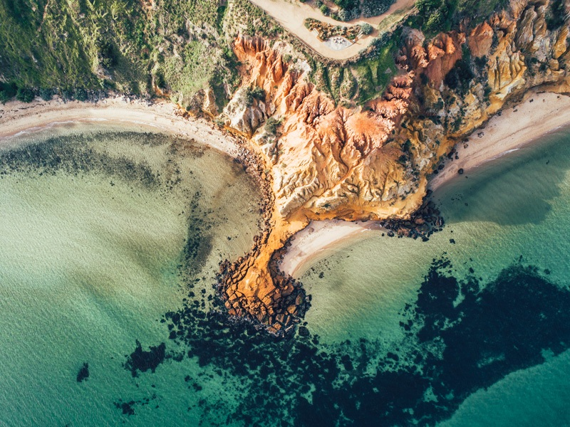 red bluff drone photography