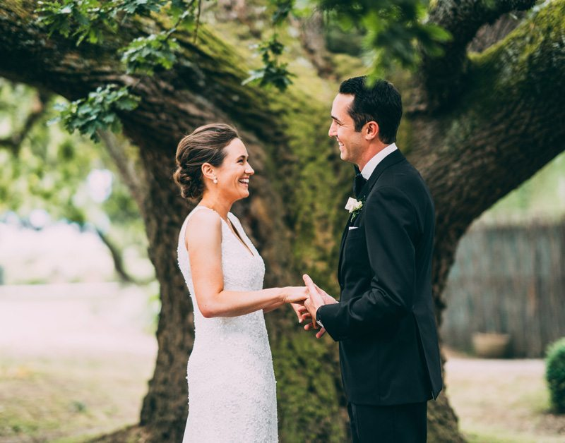 oak tree wedding ceremony coombe yarra valley