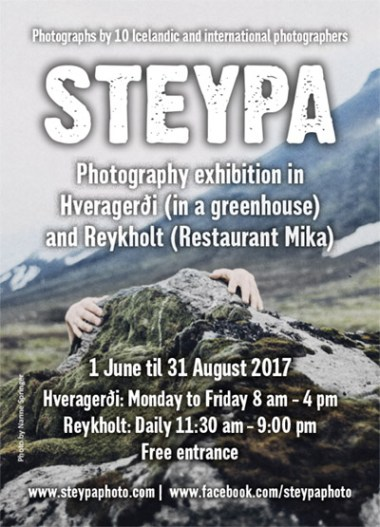 STEYPA Photography Exhibition in Hveragerði