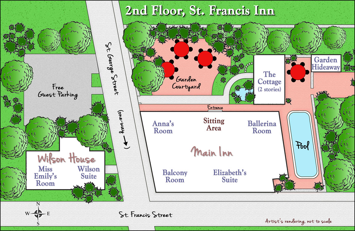 2nd floor st francis inn