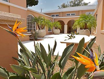 St. Augustine Art Association Building Garden Courtyard