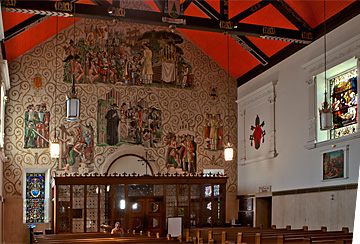 Cathedral Basilica of St. Augustine south wall