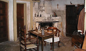 The Oldest House Museum dining area