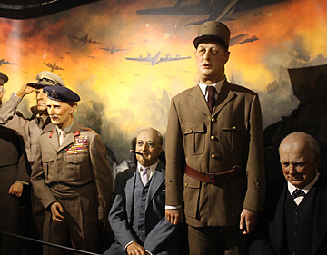 Potter's Wax Museum World War II figures