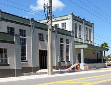 St. Augustine Distillery Ice Plant building