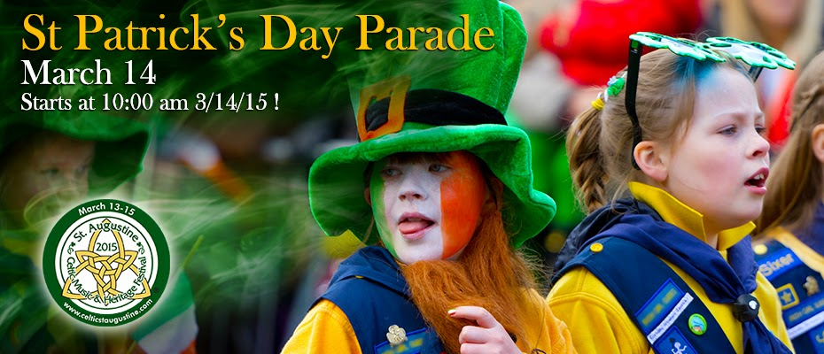 St.Patrick's Day Parade will be March 14, 2015