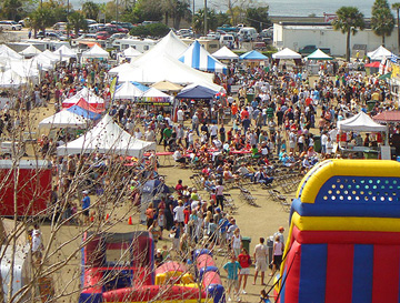 Francis Field hosts many festivals and events