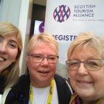 Viola Lewis, Linda Arthur and Patricia Blain at Scottish Tourism Alliance 2019