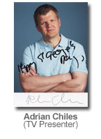 Adrian Chiles - TV Presenter