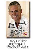 Gary Lineker - Ex-England Football Player