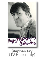 Stephen Fry - TV Personality
