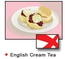English Cream Tea bunting