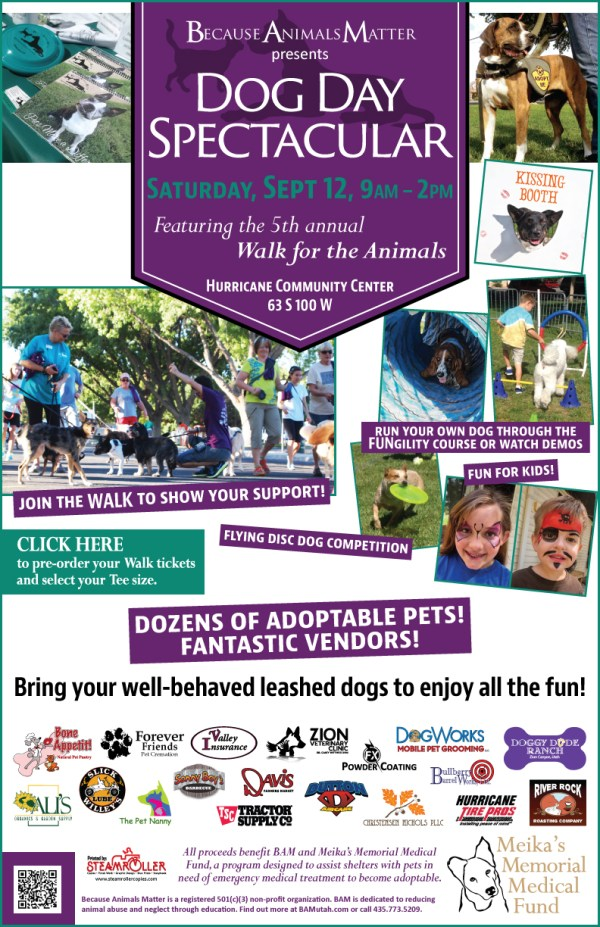 Annual 'Dog Day Spectacular' invites everyone out, 4 ...