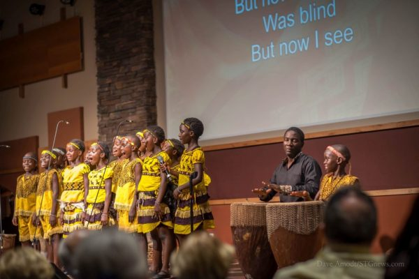 African Children's Choir performs with great joy, warming ...