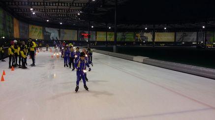 Jeugd schaatsen