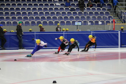 Joni Tersteeg doet mee aan internationaal shorttrack toernooi in Malmö