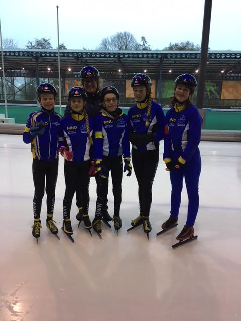 Jeugd schaatswedstrijden 25 november