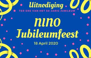 NiNo Jubileum Feest @ Clubhuis TVN