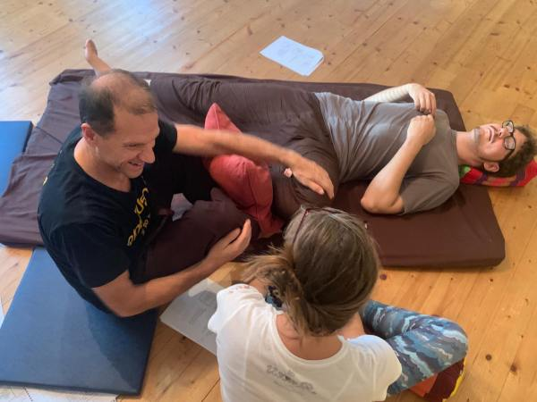 Thai Massage sequence Level 1 Nuad BoRarn Thai