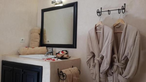twin room bath Marokko