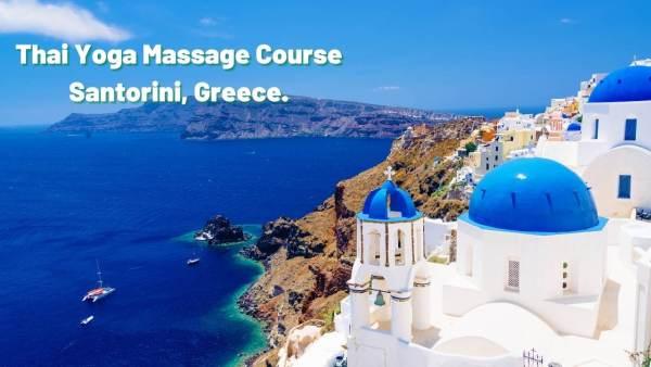 Thai Massage Course Santorini