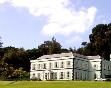 Plantation House, St Helena Island