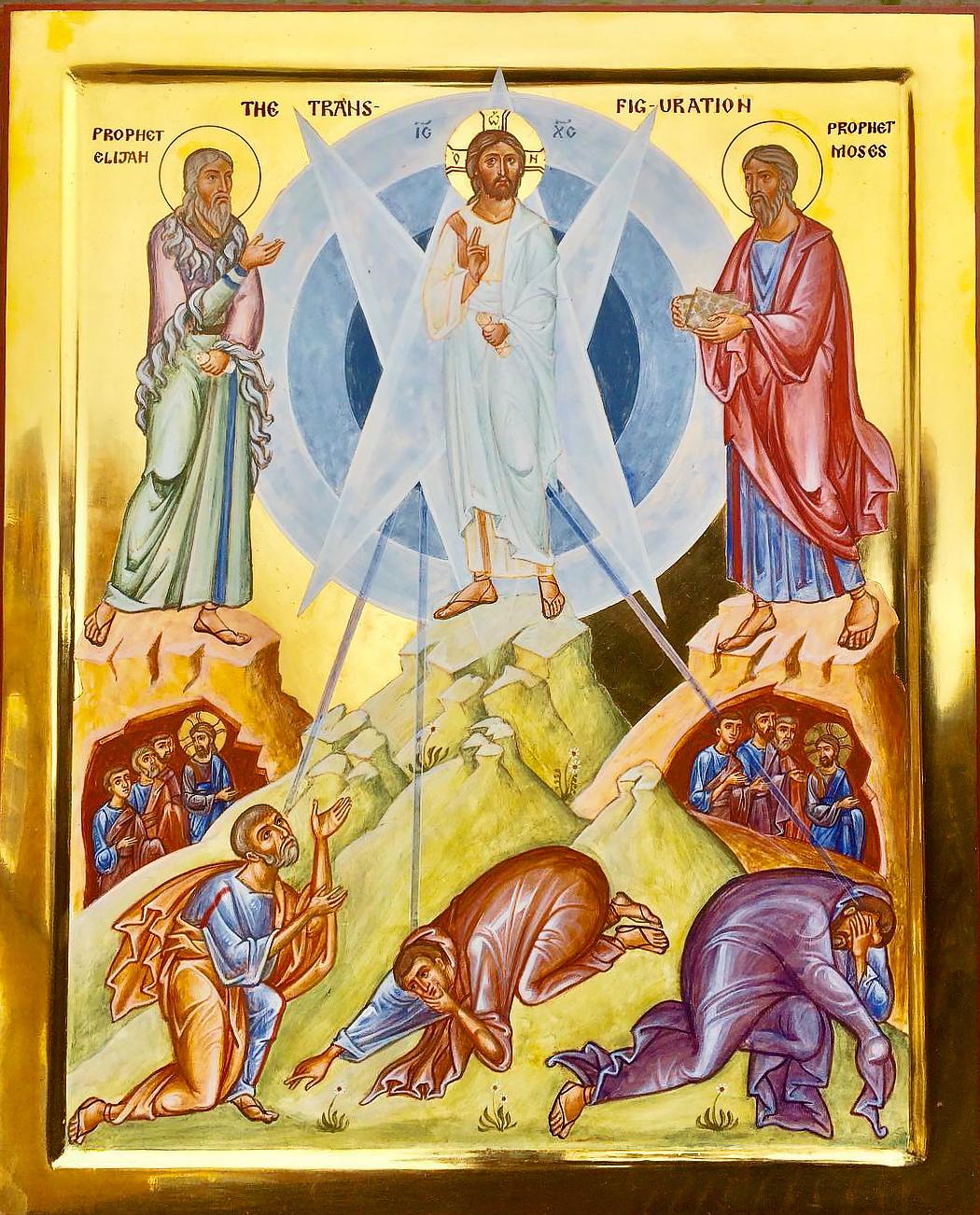 Transfiguration of our Lord and Savior Jesus Christ