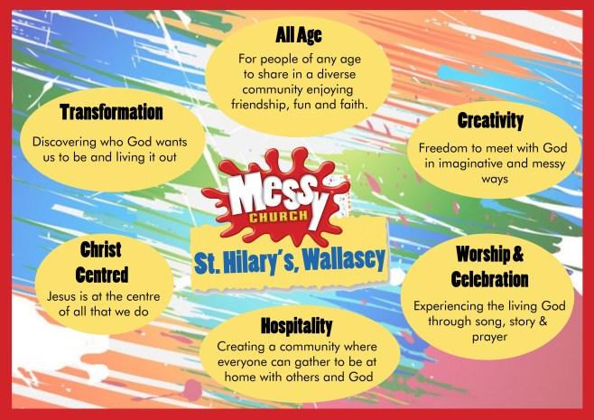 Messy Church Values