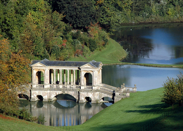 Rule of Thirds: Palladian Bridge, Prior Park, Bath, England. © Scott Thomas Photography