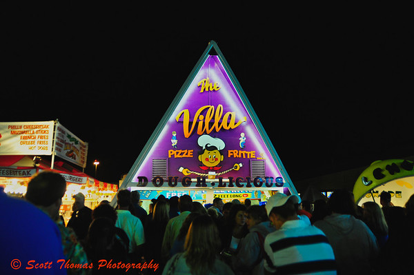 The Villa food stand at the New York State Fair is the home of the Pizze Fritte.