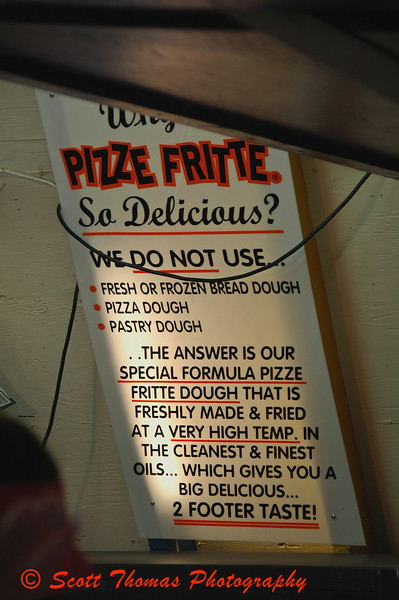 Heres the secret to the success of the Pizze Fritte.