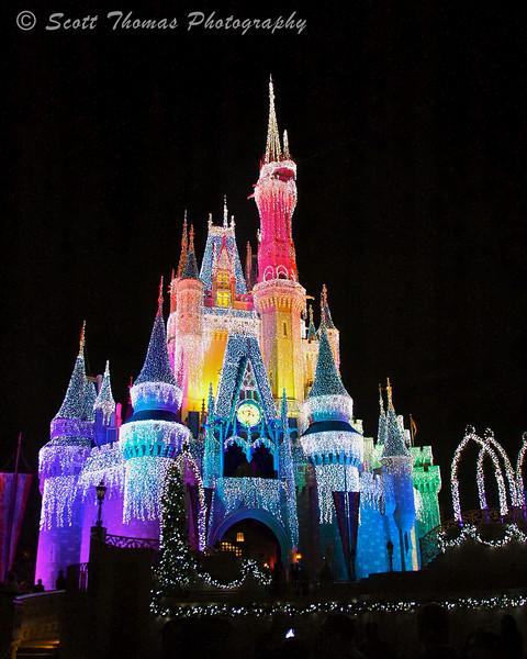 Rainbow Ice Castle.