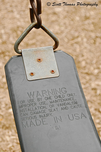 Warning - Made in the USA
