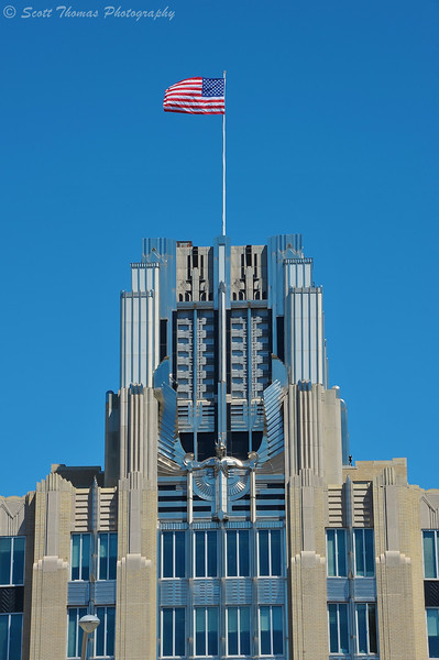 Niagara Mohawk building in Syracuse, New York.