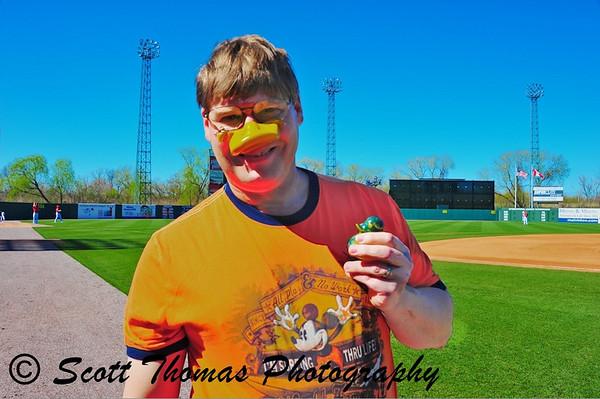 Ugly Duckling Race winner!