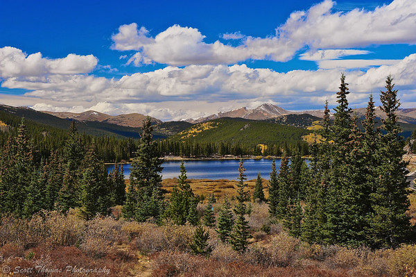 Echo Lake on Route 103 in Colorado.