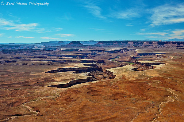 Green River Overlook in Canyonlands National Park near Moab, Utah.