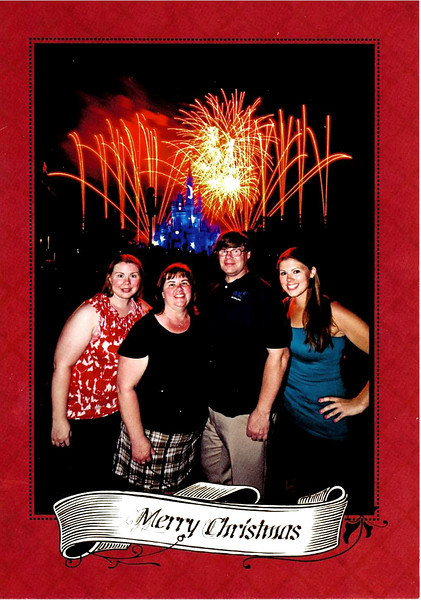 Wishes Christmas Card from the Magic Kingdom