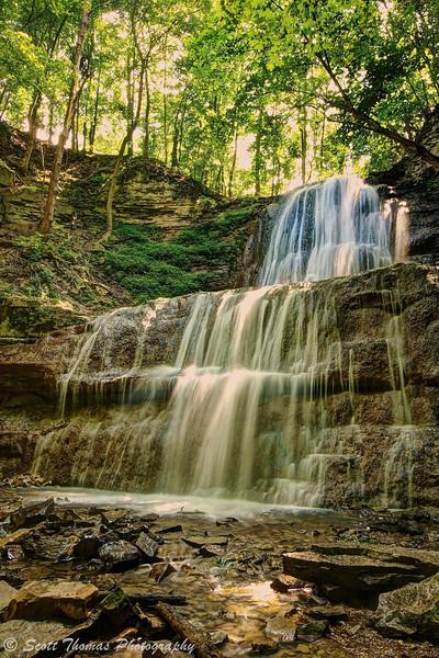 Sherman Falls near Hamilton, Ontario, Canada.