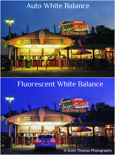 White Balance Examples