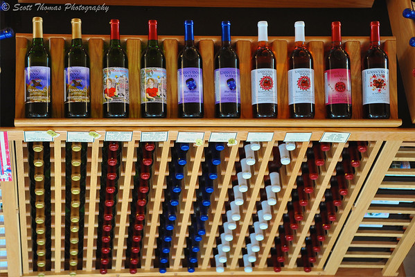 Torrey Ridge wines ready for purchase in the Finger Lakes region of New York.
